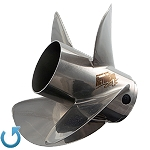 14.6 x 22 Pitch | Revolution 4 XP Mercury Propeller | LEFT-HAND | Pro Finished | 8M0113945